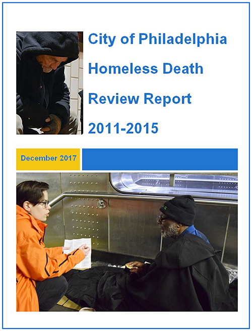 homeless death report