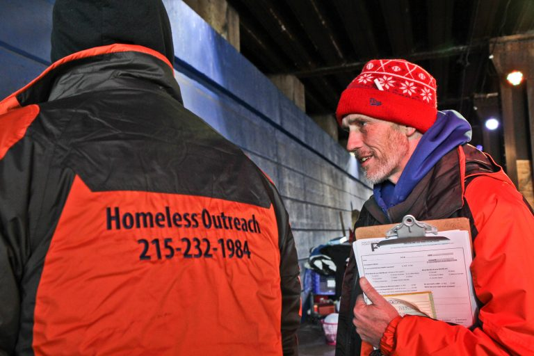 Outreach during winter in encampments