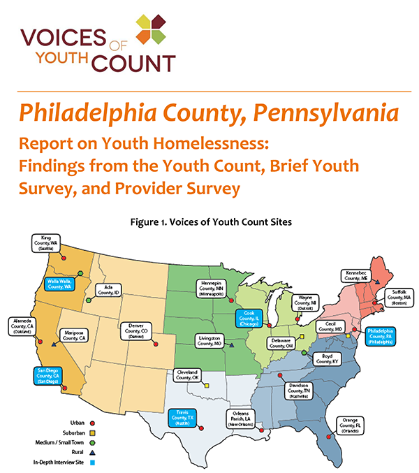 Voice of Youth Count philadelphia report