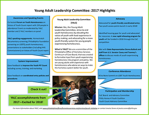 Young Adult Leadership Committee 2017 highlights