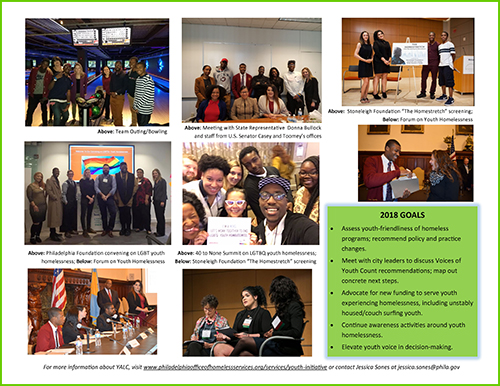 Young Adult Leadership Committee 2017 highlights second page