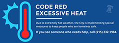 Code red text to link to page of information