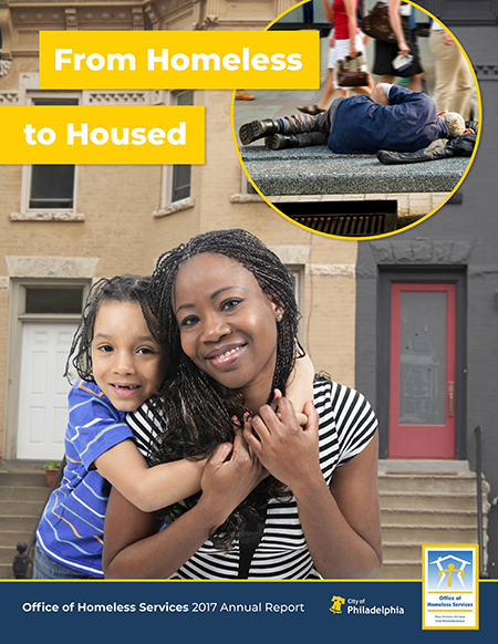 Cover of From Homeless to Housed - OHS 2017 Annual Report
