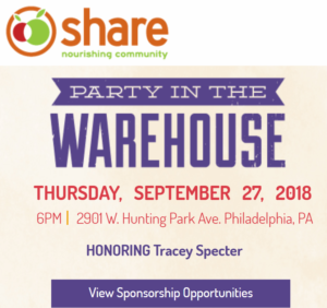 share the food warehouse party